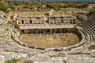 Amphitheater Of Aphrodisias,  Anatolia Turkey