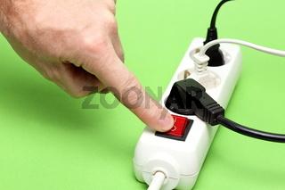 Sparmaßnahme Energie