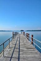 at Lake Grosser Ploener See in Ploen,Holstein Switzerland,Schleswig Holstein,Germany
