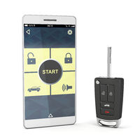 Smartphone and car key