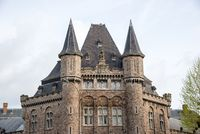 Leopold Barracks - one of belgian ghotic landmark in Gent, Belgium.