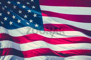 Retro Stars And Stripes Flag