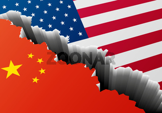 Deep Crack China USA