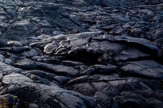 Erkaltete Lava