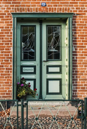 Front door in Wustrow