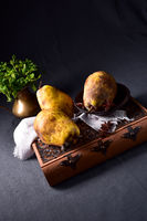 Fresh and rustic Pear