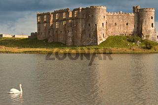 UK Pembrokeshire Carew Castle