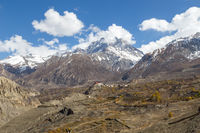 Jharkot Village in Annapurna Region, Nepal