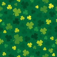 Three leaf clover seamless background 4