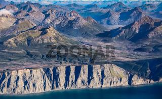 Rugged coastline Katmai National Park, Alaska