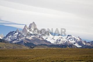 Fitz Roy Massiv, Patagonien, Argentinien, Fitz Roy massiv, Argentina, Patagonien