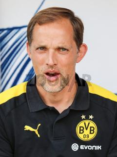 Cheftrainer Thomas Tuchel (Borussia Dortmund, Saison 2016-17) Testspiel gegen Hallescher FC 23.8.16