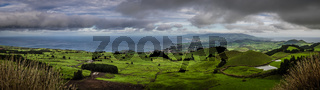 Rolling hills of Sao Miguel