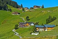 St. Antönien in the Prättigau region, Graubünden, Grisons, Switzerland