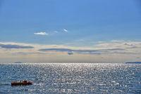 View on the tyrrhenian sea - Italy