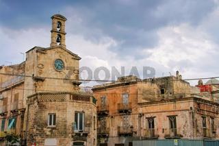 Taranto Altstadt  - old town Taranto in Apulia, Italy