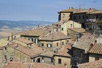 cityscape, Volterra, Tuscany, Italy, Europe
