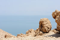 The coast of the Dead Sea