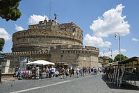 Castel Sant Angelo, castle, museum, Rome, Italy, Europe