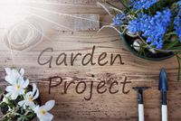 Sunny Spring Flowers, Text Garden Project