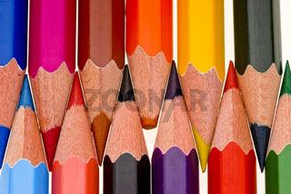 ungleiche Bleistiftspitzen