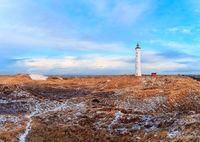 Winter morning at Lyngvig Fyr