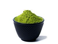 grüner Matcha Tee Pulver