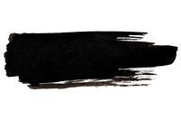 Expressive black brush stroke