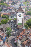Schwabentor in Freiburg Germany