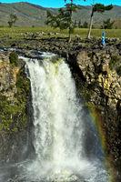 Orkhon Wasserfall