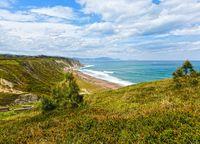 Beach Azkorri or Gorrondatxe view.