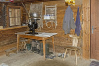 Still life in the alpine hut