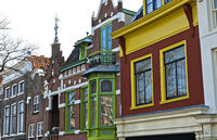 Traditional Dutch Gablefront house, Alkmaar, Netherlands