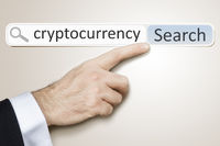 web search for cryptocurrency