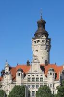 Leipzig - Neues Rathaus, Deustchland