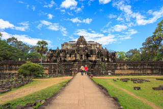 Baphuon temple at Angkor Wat , Siem Reap , Cambodia