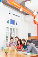 Startup Team im Meeting