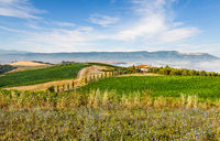 The classical landscape of Tuscany