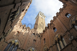 Torre del Mangia tower