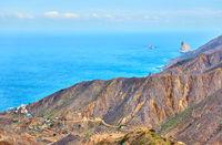 Atlantic Ocean and coast of Tenerife