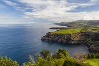View from Miradouro De Santa Iria - Sao Miguel - Azores