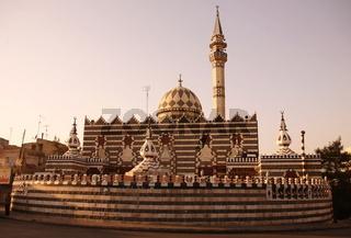 Die Abu Darwish Moschee in der Jordanieschen Hauptstadt Amman