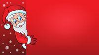 Lurking Santa Claus with copyspace 1