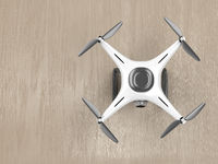 Drone, top view