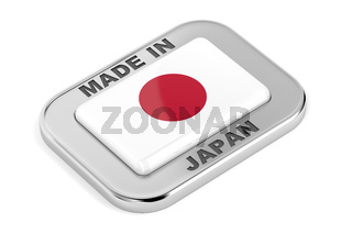Made in Japan shiny badge