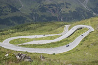 Drive on the Grossglockner High Alpine Road