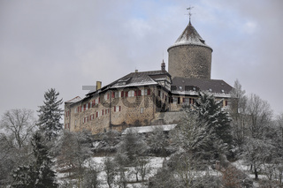 Burg Reichenberg im Murrtal bei Backnang