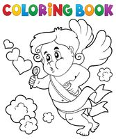 Coloring book with Cupid 8