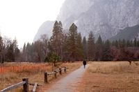 Yosemite Valley, Three Brothers, California