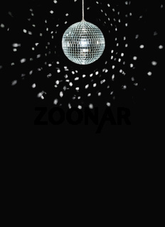 spinning discoball